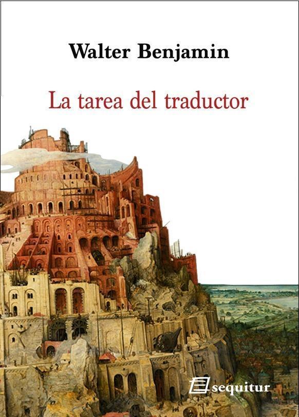 La tarea del traductor: portada