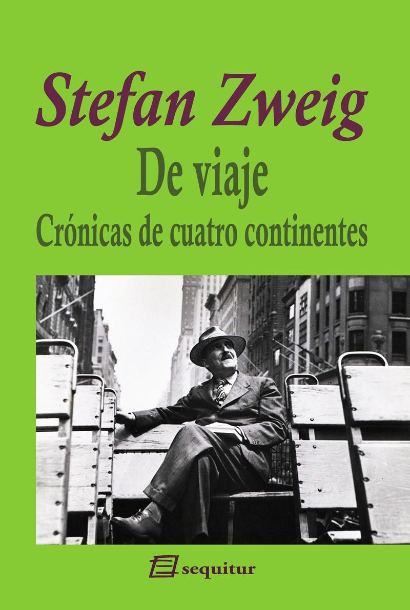 De viaje - Crónicas de cuatro continentes: portada