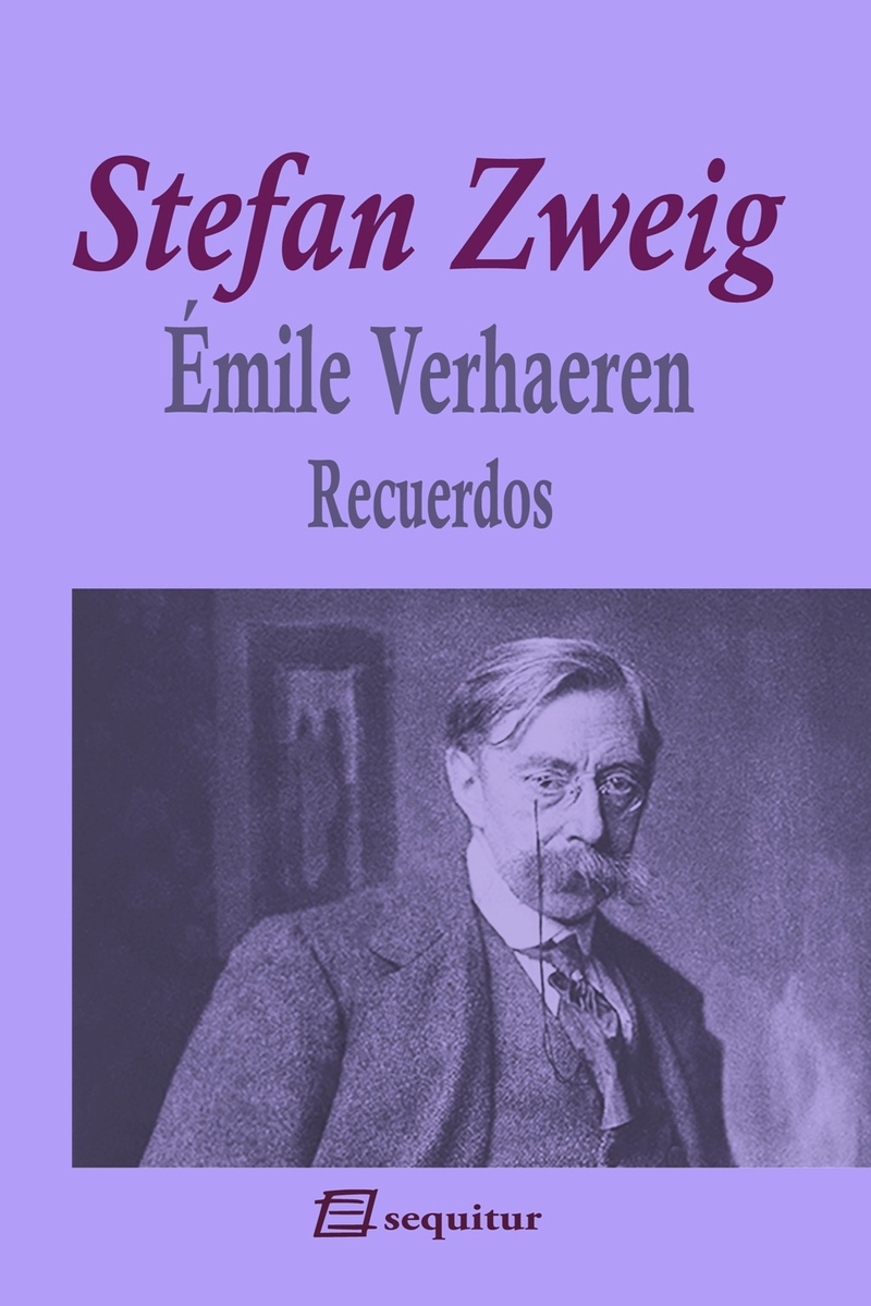 Émile Verhaeren - Recuerdos: portada
