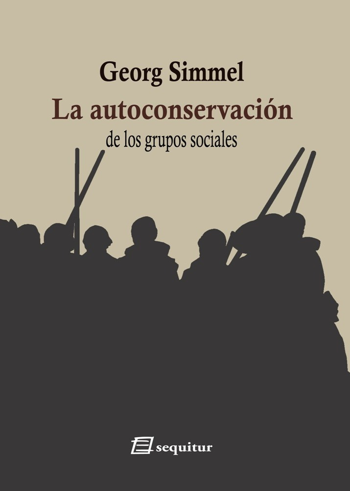 La autoconservación de los grupos sociales: portada