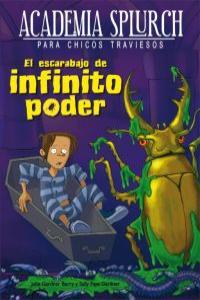 El escarabajo de infinito poder: portada