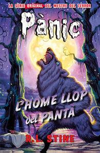 Pánic 7: L'home llop del pantà: portada