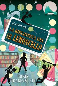 Escapa de la biblioteca del Sr. Lemoncello: portada