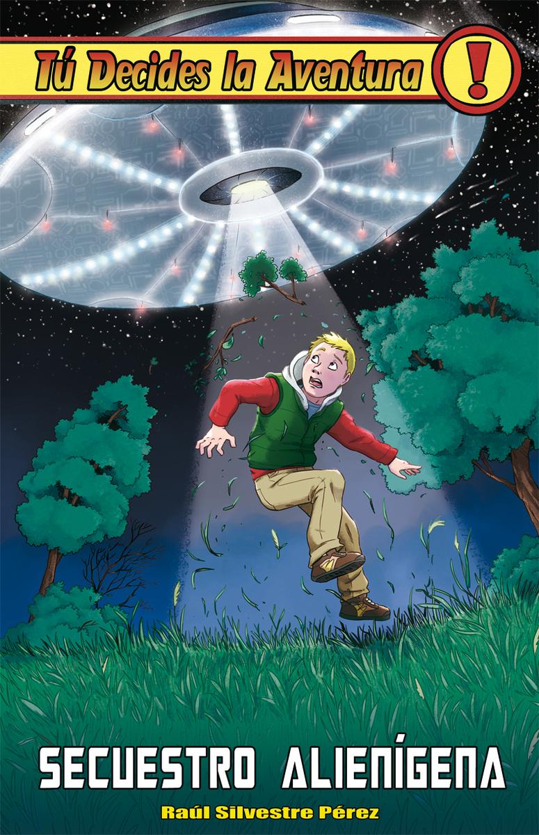 Secuestro alienígena: portada