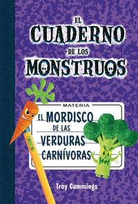 El mordisco de las verduras carnívoras: portada