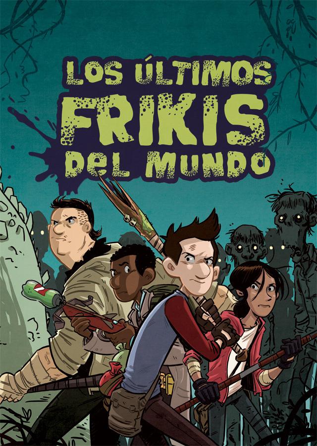 Los �ltimos frikis del mundo: portada