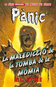 Pánic 4: La maledicció de la tomba de la mòmia: portada