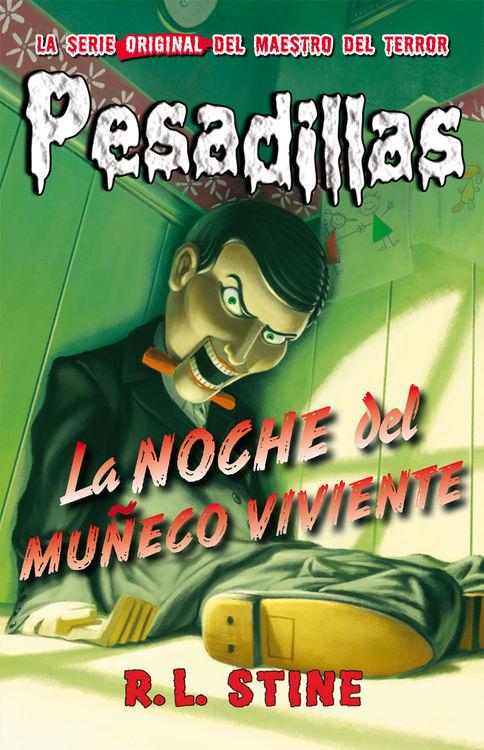 Pesadillas 1: LA NOCHE DEL MUÑECO VIVIENTE: portada