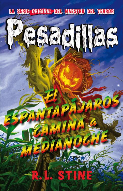 Pesadillas 2: EL ESPANTAPÁJAROS CAMINA A MEDIANOCHE: portada