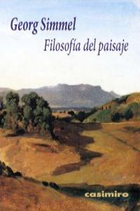 Filosofía del paisaje 3ª ED.: portada