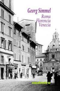 Roma, Florencia, Venecia: portada