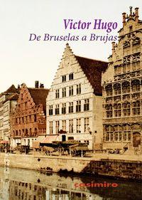 De Bruselas a Brujas: portada