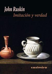 Imitación y verdad: portada