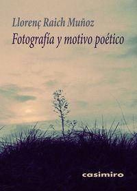 Fotografía y motivo poético 2ªED: portada