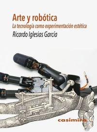 Arte y robótica: portada