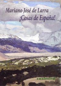 ¡Cosas de España!: portada
