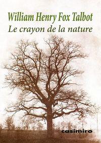 Le crayon de la nature: portada