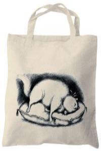 Bolsa El paraíso de los gatos: portada