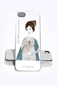 FUNDA IPHONE JANE AUSTEN 4, 4S: portada