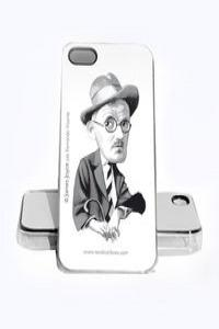 FUNDA JAMES JOYCE IPHONE 4, 4S: portada