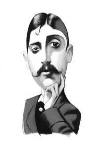 Ilustración Proust: portada