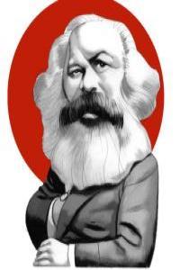 Ilustraci�n Marx: portada