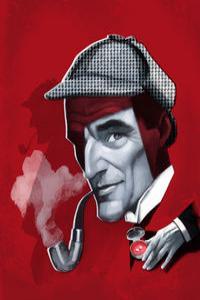 ILUSTRACIÓN SHERLOCK HOLMES: portada