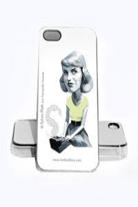 FUNDA SYLVIA PLATH IPHONE 4, 4S: portada