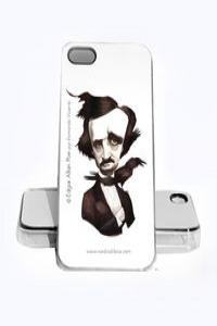 FUNDA EDGAR ALLAN POE IPHONE 5, 5S: portada