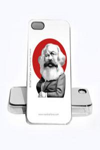 FUNDA KARL MARX IPHONE 5, 5S: portada