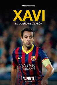 Xavi. El dueño del balón: portada