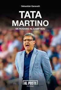 Tata Martino. De Rosario al Camp Nou: portada