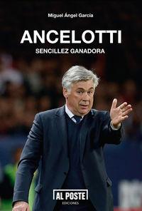 Ancelotti. Sencillez ganadora: portada