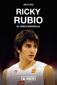 Ricky Rubio. El chico maravilla: portada