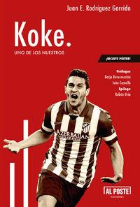 Koke. Uno de los nuestros: portada