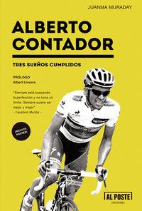 Alberto Contador. Tres sueños cumplidos: portada