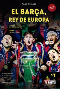 El Barça, Rey de Europa: portada