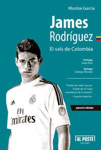 James Rodríguez. El vals de Colombia: portada