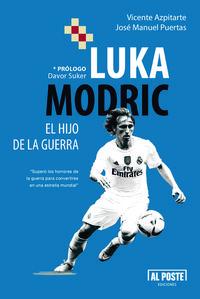 Luka Modric. El hijo de la guerra: portada