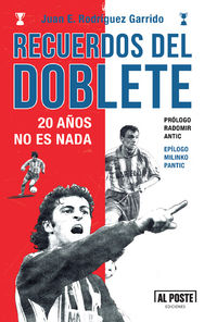 Recuerdos del Doblete. 20 años no es nada: portada