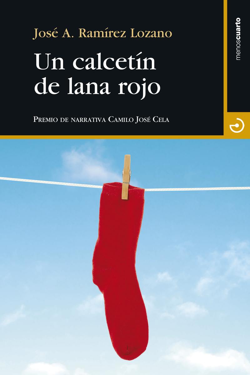 Un calcetín de lana rojo: portada
