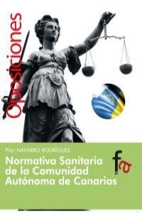 NORMATIVA SANITARIA DE LA COMUNIDAD AUTÓNOMA DE CANARIAS: portada