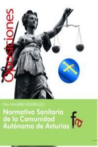 NORMATIVA SANITARIA DE LA COMUNIDAD AUTÓNOMA DE ASTURIAS: portada