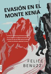 EVASIÓN EN EL MONTE KENIA: portada