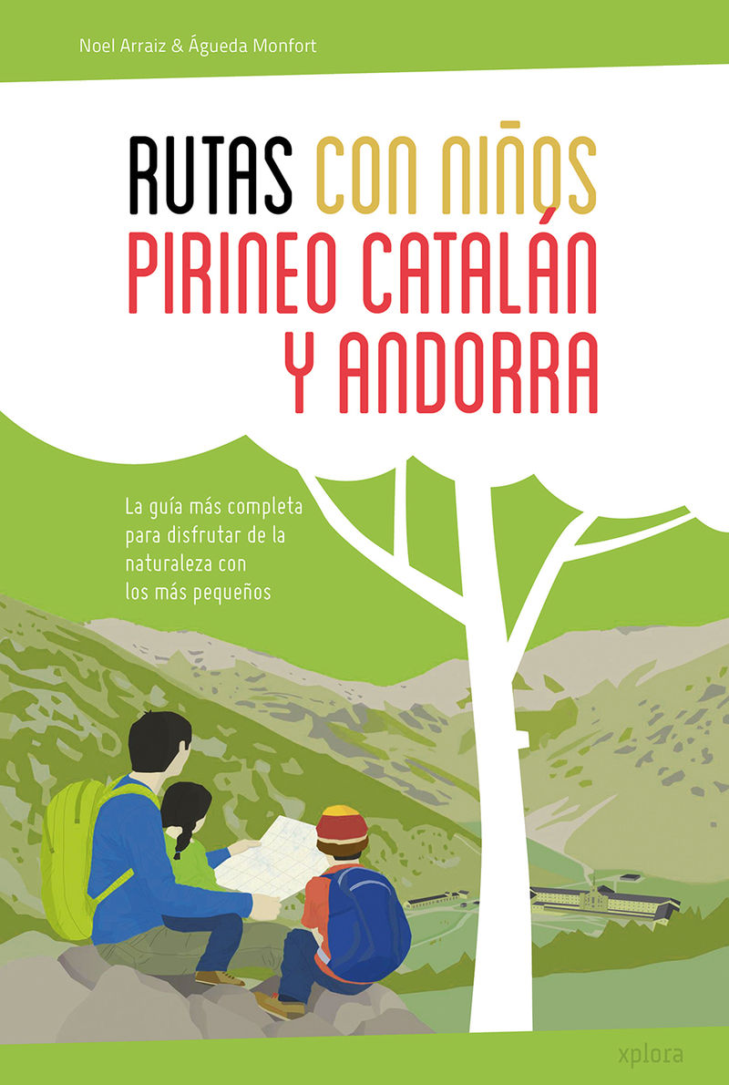 Rutas con niños en el Pirineo catalán y Andorra: portada