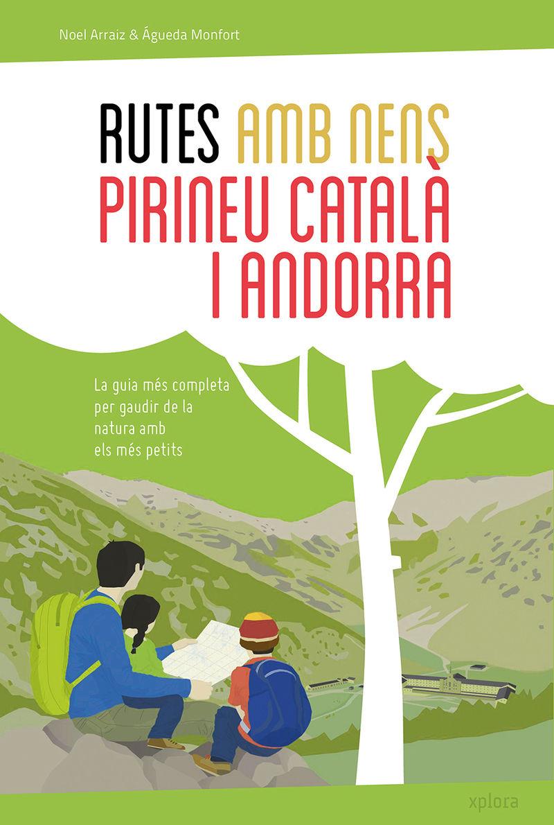 Rutes amb nens pel Pirineu català i Andorra: portada