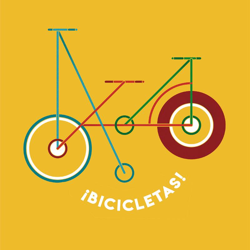 ¡Bicicletas!: portada