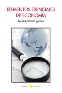 Elementos esenciales de economía: portada