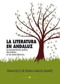 LITERATURA EN ANDALUZ, LA: portada