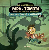 LAS AVENTURAS DE FEDE Y TOMATE 2: portada